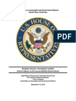 House Oversight Committee Report | State Department's Benghazi ARB Investigation