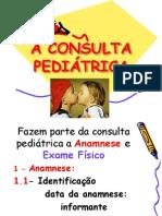 A Consulta Pediatrica