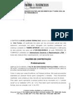 contestação e reconvenção A.M. Lucena