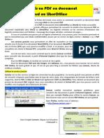 Convertir Un PDF en Document