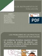 Presentacion DISEÑOS DE INSTRUMENTOS DE EVALUACION