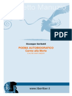 Garibaldi Poema Autobiografico