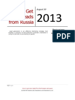 How to Get More Leads From Russia