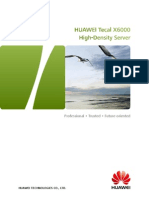 Huawei Tecal X6000 High-Density Server Brochure