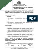 CORRIGENDA AO CHAMAMENTO PÚBLICO DA AGRICULTURA FAMILIAR