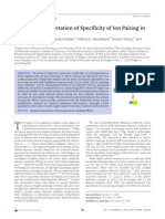 Dielectric Interpretation of Specificity of Ion Pairing in Water