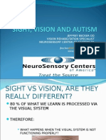 Sight, Vision and Autism