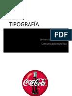 1. Clase tipografiìa