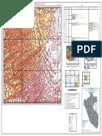 Mapa Geologico Del Cuadrangulo Huaylillas - Hoja 37-X-IV