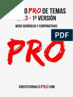 Libro PRO de temas - webs genéricas (2013 - 1º)
