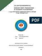 MAKALAH FITOMEDISIN