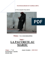 La Pauvreté Au Maroc
