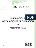 Section 92_61S 2012-08 Absolyte GP I&O Manual in Spanish