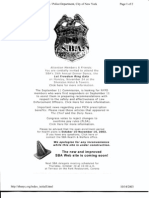 NY B9 NYPD Fdr- SBA Org- NYC Info- McKinsey Report- 1st Pgs for Reference 423