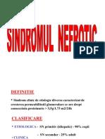 Sindrom Nefrotic