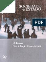 Avanços e desafios da nova sociologia econômica, nota sobre os estudos sociológicos do mercado