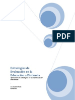 Estrategias de Evaluación en la Educación a Distancia pardo