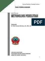 Kontrak Perkuliahan Metlit d4 (2013)
