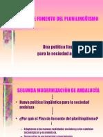 PLAN DE FOMENTO DEL PLURILINGUISMO.ppt