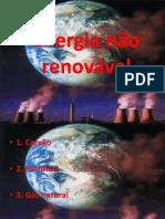 Energia não renovável