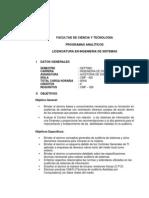 PA Auditoria de Sistemas V4