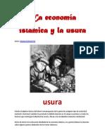 La economia islamica y la usura- por Hamza Echeverria