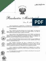 RM. 967-2012-MINSA - Proyecto de Reglamento de la Ley Nº 29414, Ley que establece los derechos de las personas usuarias de los derechos de salud.pdf