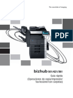Bizhub 501 421 361 Qg Copy Print Fax Scan Box Operations Es 2 1 1