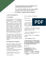 Acidos y Bases.valoracion de Acido Clorhidrico y de Hidroxido de Sodio Por Titulacion