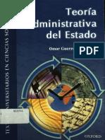 Teoria Administrativa Del Estado