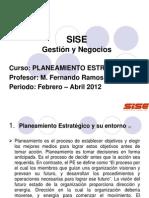 SISEPlaneamientoEstrategico 2012