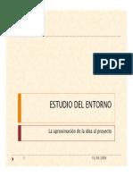 3. Estudio Del Entorno y Mercado