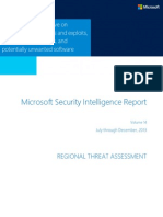 Microsoft Security Intelligence Report Volume 14 Regional Threat Assessment English