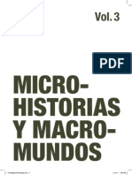 Microhistorias Y Macromundos 3 Maria Lind Ed