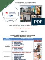 LÍNEAS DE INVESTIGACIÓN PSICOLOGÍA EDUCATIVA