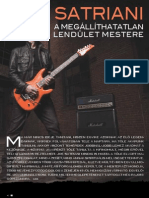 Joe Satriani interview 2013