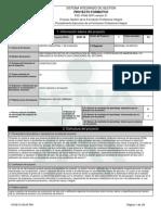 Reporte Proyecto Formativo - 197419 - Gestionar Proyectos de Constru