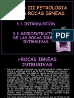 Petrologia de Las Rocas Igneas