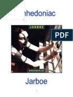 Anhedoniac by Jarboe, reviewed by Pieter Uys.