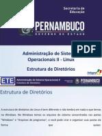 Aula 7 - Estrutura de Diretorios