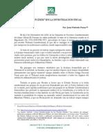 HURTADO POMA. El Ne Bis in Idem en La Investigacion Fiscal