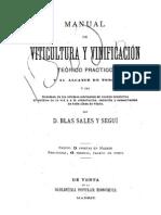 MANUAL DE VITICULTURA Y VINIFICACIÓN (1889)