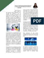 Asignación 1. La Gerencia de Mercadeo y la Generación de Nuevos Productos y Servicios frente a la actual escasez de Productos y Servicios en Venezuela