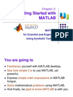 Ch 2 Getting Started With MATLAB