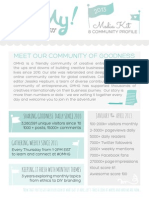 Oh My! Handmade Media Kit + Community Profile