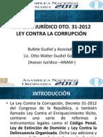Ley Contra La Corupcion