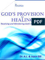 God's Provision for Healing - Receiving and Ministering God's Healing Power