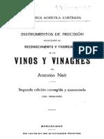 Vinos y Vinagres