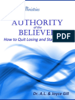 Authority of the Believer - How to Quit Losing and Start Winning