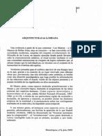 Zunzunegui Santos Arqhitecturas de La Mirada